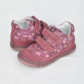 Bordové kotníkové topánky Kiss 4bbc67ea1d1