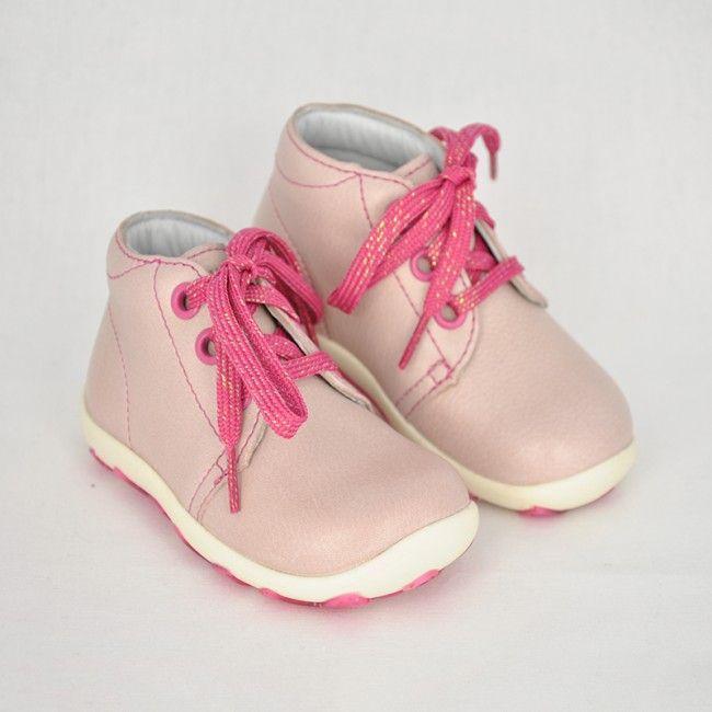 3612625f74ea Celokožené kotníkové topánky na šnúrovanie CAMELIA - CICIBAN
