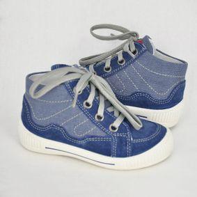 Chlapčenské kotníkové topánky na šnúrovanie df3065c2a92