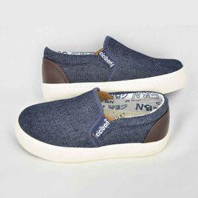Chlapčenské mokasíny Canvas Jeans 53a60513701