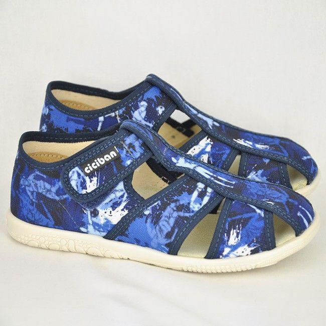 Chlapčenské papuče SOCCER