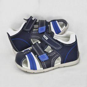 72ae888bb Chlapčenské sandále Geox Navy/white