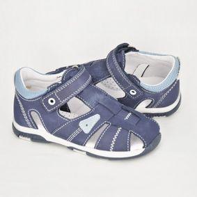 85013c500 Chlapčenské sandále NAVY