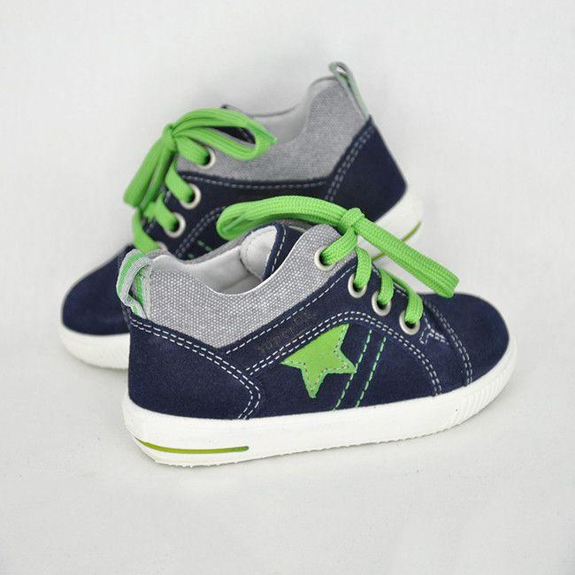 a201d751606d Chlapčenské šnurovacie topánky SF Ocean Kombi - CICIBAN
