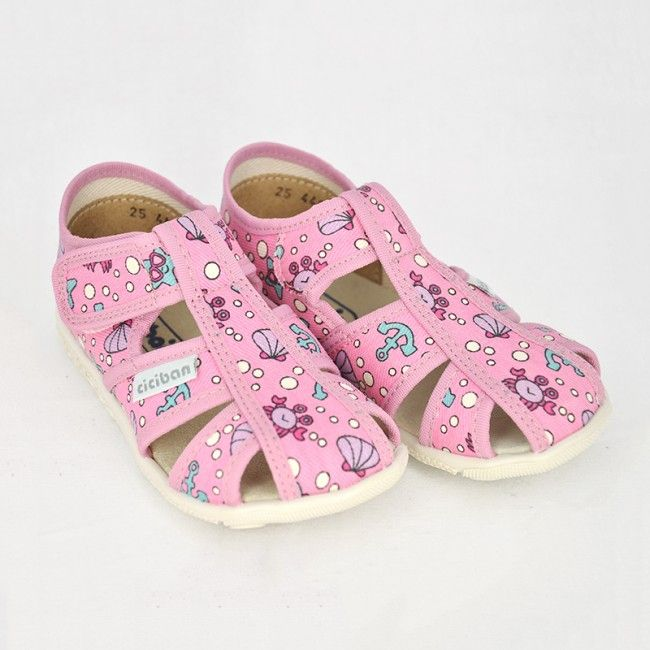 d643cbae89cb Dievčenské papuče Ciciban SUMMER - CICIBAN
