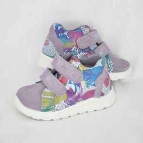 Dievčenské kotníkové topánky SF Lila Kombi 41803c9b134