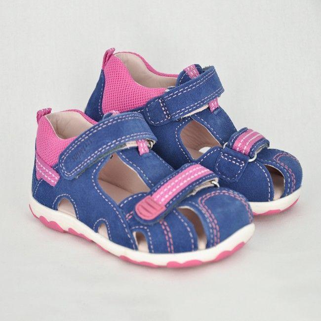 a0a18fa1c8f9 Dievčenské sandále s uzavretou špičkou WATER - CICIBAN