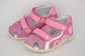 f420dd91f141 Dievčenské sandále Smart Malva