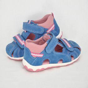 57a380fe2 Dievčenské sandálky SF Denim Kombi