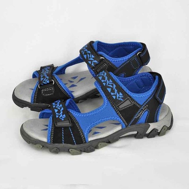 7db338450 Chlapčenské. Sandále SF Schwarz Kombi
